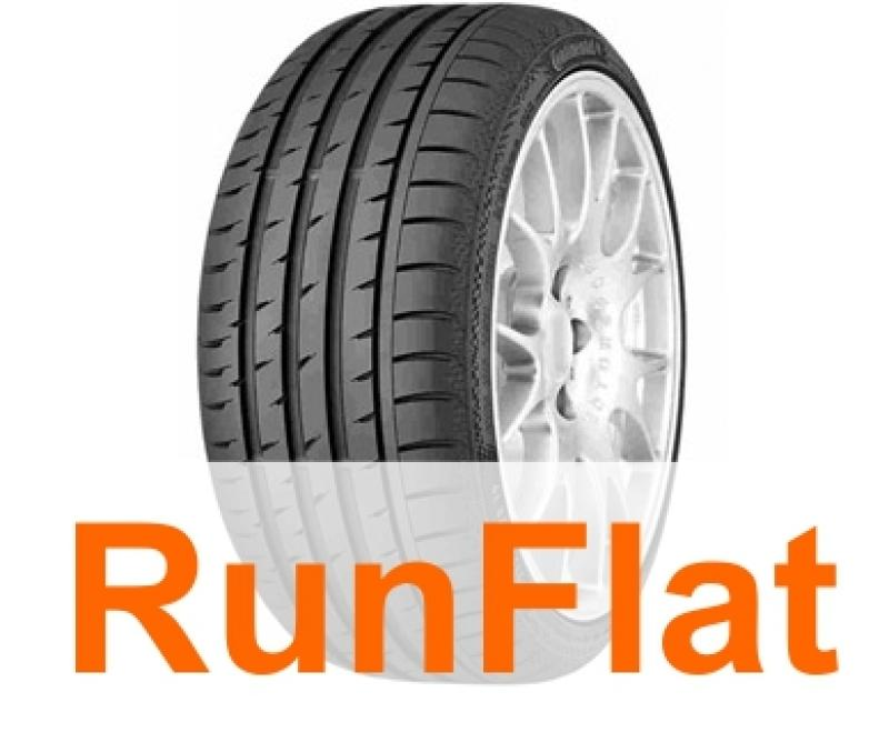 Anvelopa vara CONTINENTAL Sport Contact 3 SSR 235/45 R17 97W